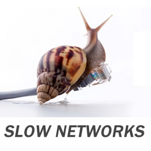 slow computer networks