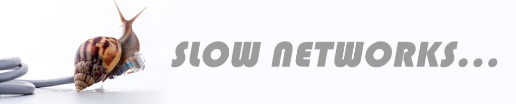 Computer Networks Slow Networks Logo